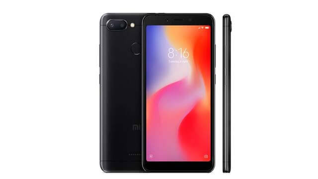 Redmi 6 back