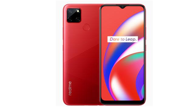 Realme C12 image red